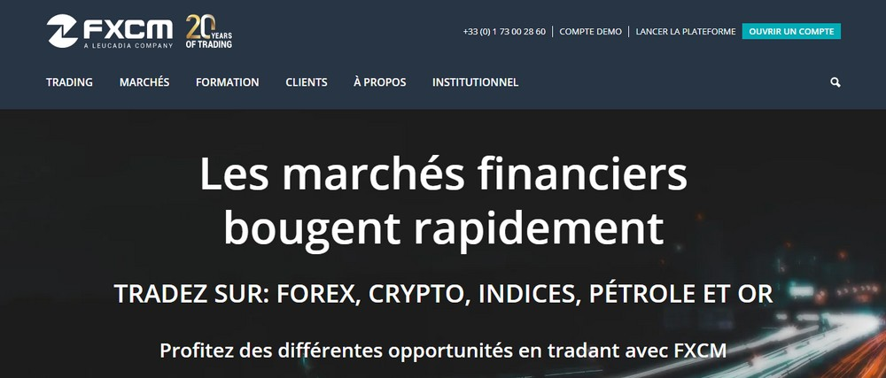 FXCM avis : l'innovation face à la concurrence