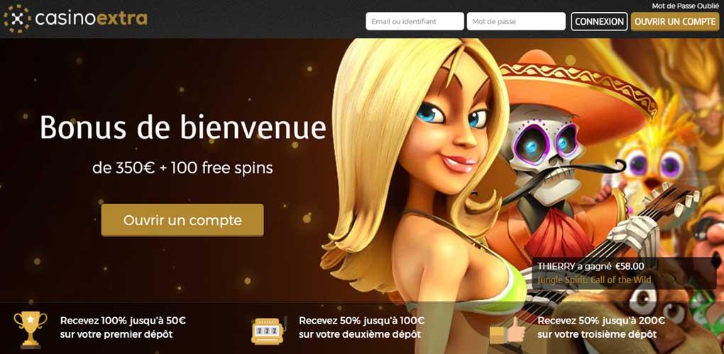Casino extra, notre avis sur ce casino en ligne qui fera le bonheur des passionnés de jeu en ligne
