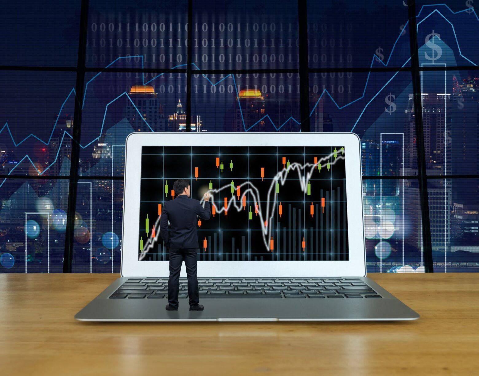 Qu'est-ce que c'est trader en ligne ?