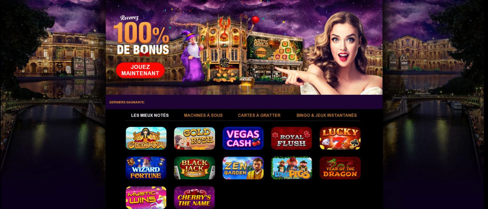 Gratowin, un nouveau casino à la ludothèque singulière